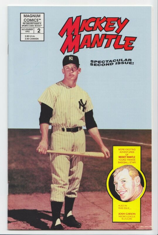 Mickey Mantle #2 Magnum Comics 1992 NM Unread Copy