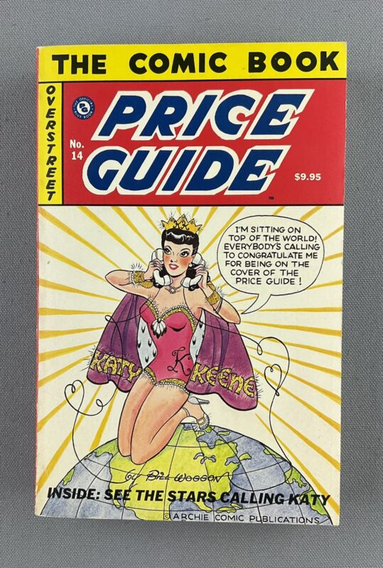 Overstreet Comic Book Price Guide # 14 1984 Softcover, Katy Keene