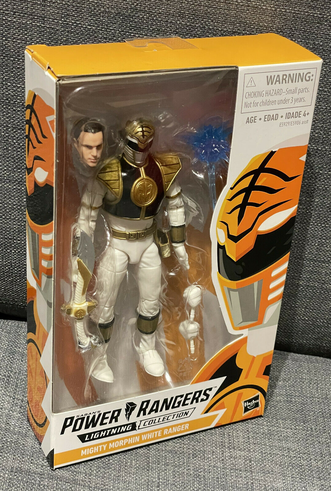Power Rangers Mighty Morphin White Ranger | Lightning Collection, Tommy | NEU
