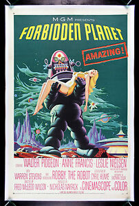 FORBIDDEN-PLANET-CineMasterpieces-VINTAGE-SCI-FI-ORIGINAL ...