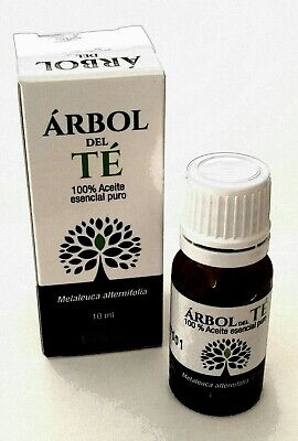 Aceite de arbol de Te. 100% Pure Organic TEA TREE Essential Oil 10ml