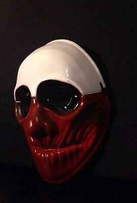 Crazy Genie Payday 2 Mask Replica Clown Chains THE HEIST WOLF Halloween - Payday 2 Halloween Masks