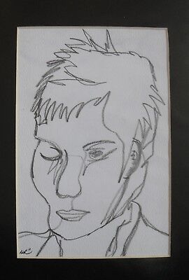 Original Pencil Drawing on Paper 'Jake' by Michelle Ranson
