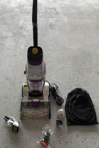 BISSELL ProHeat 2X Silver/Purple Revolution Pet Pro Carpet C