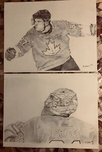 Sidney Crosby & Carey Price prints for sale!!