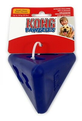 BLUE KONG Dog Puppy Toy Rubber Strong Tough Chew Treat Dispenser Stimulate
