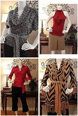 CUSTOM-CREATED-FOR-YOU 10-PC WOMEN'S CAREER/CASUAL CLOTHING LOT, SIZES XS,S,M,L