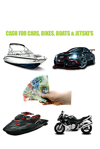 NEED CASH FAST? SELL YOUR CAR, BIKE, JET SKI & BOAT TODAY !!! Brisbane City Brisbane North West Preview