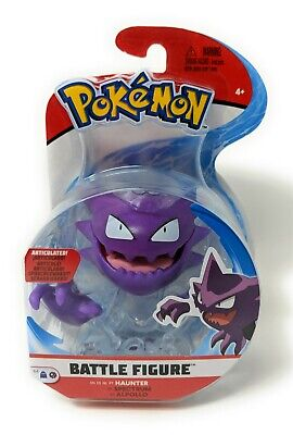 HAUNTER Pokemon Battle Figure Articulated 97629 Wicked Cool Toys Action Figures