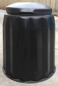 Solid Garden Compost Bin Black Gedye Great Condition Glen Iris Boroondara Area Preview