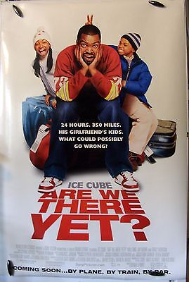"Are We There Yet? - 27""x40"" 2 Sided ORIGINAL Movie Poster - Ice Cube, Nia Long"