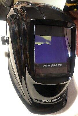 Arcsafe Vulcan Auto Darkening Welding Helmet Welder Safety Protection Auto Shop