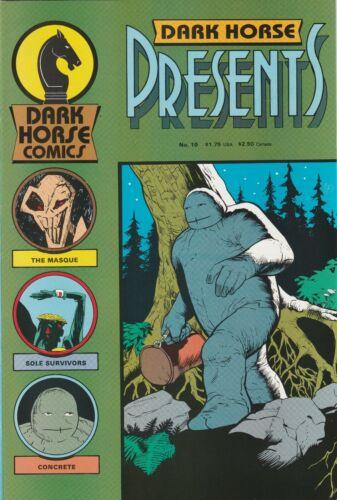 DHP DARK HORSE PRESENTS #10 (Mask Masque 1st appearance) NM- shape 1987