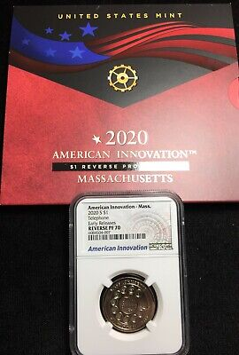 2020-S NGC PF70 Ma TELEPHONE INNOVATION DOLLAR REVERSE PROOF ER Sa084 - $46.00