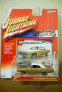 Johnny Lightning 1967 Chevy Chevelle Malibu Muscle Cars USA - Italia - Johnny Lightning 1967 Chevy Chevelle Malibu Muscle Cars USA - Italia