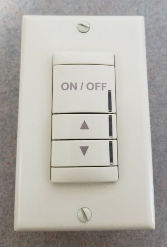 ACUITY CONTROLS--NPODM DX IV--Ivory--Low Voltage Wall Switch--3 Button--Dimming