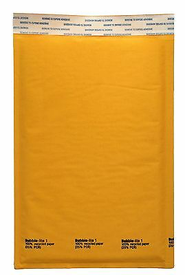 300 1 Kraft Bubble Padded Envelopes Mailer 7.25 X 12