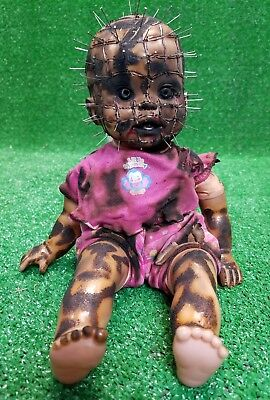 Hellraiser baby doll demonic demented creepy Halloween prop movie custom satan