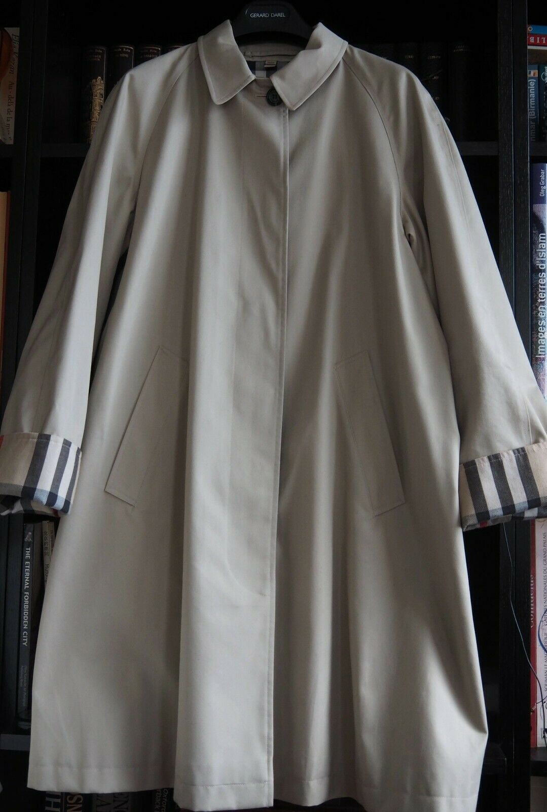 Burberry authentique imperméable trench t40