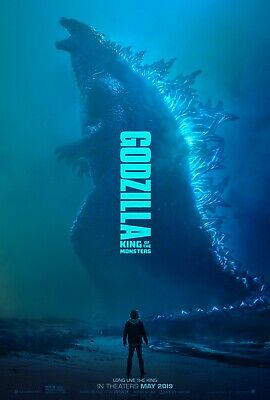 "Godzilla 2019 movie poster 11""x17"""