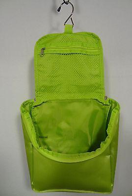 V3 Razor Light Green Pouch / Bag GOOD IN THE SHOWER w/ Hook Zipper TRAVEL BAG