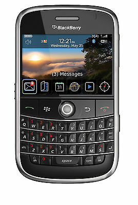 (Unlocked) AT&T BlackBerry Impertinent 9000 1GB Black Smartphone QWERTY Keyboard Keypad