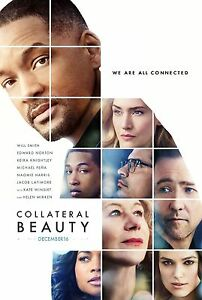 Collateral Beauty Movie Poster (24x36) - Will Smith, Kate Winslet, Ed Norton v1