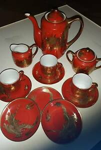 Vintage Japanese Kutani Tea Set - NEGOTIABLE Make an offer Wishart Brisbane South East Preview
