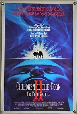 Sacrifice Movie Poster (CHILDREN OF THE CORN II THE FINAL SACRIFICE ROLLED ORIG 1SH MOVIE POSTER (1993) )