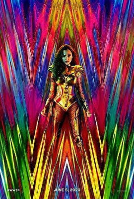 Wonder Woman 84 movie poster (a) - 11 x 17 - Gal Gadot (2020)