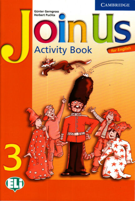 Cambridge JOIN US FOR ENGLISH 3 Activity Book: Level 3 @BRAND NEW@