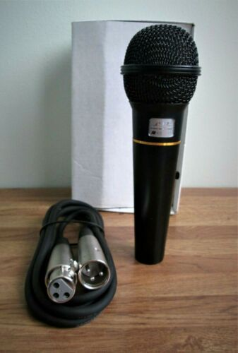 "Microphone BTL KS-317 Impedance Wired Mic, 60"" CABLE, NEW IN BOX,"