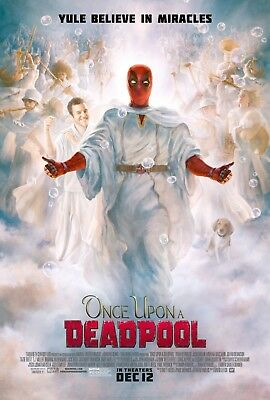 Once Upon A Deadpool Movie Poster  - Ryan Reynolds, Fred Sav
