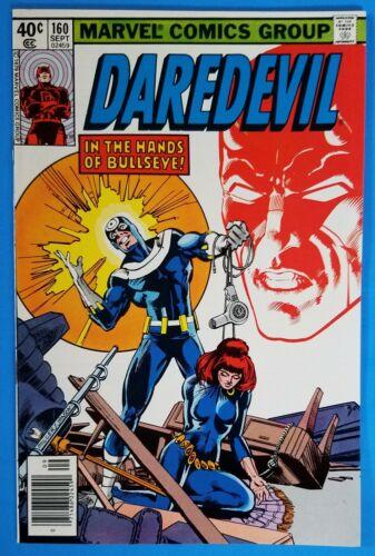 Daredevil #160 - Black Widow - Bullseye - Frank Miller Cover - Marvel 1979 - VF