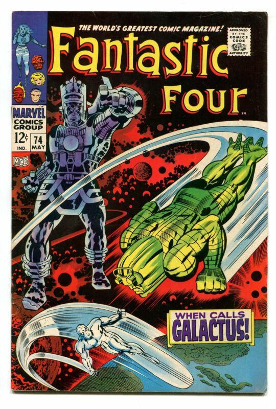 FANTASTIC FOUR # 74