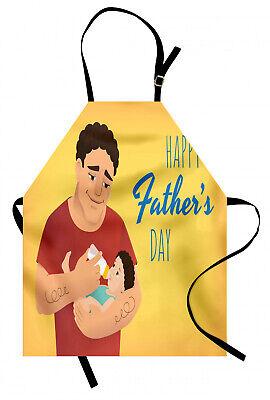 Dia del padre Delantal de Cocina Hombre de su alimentación infantil