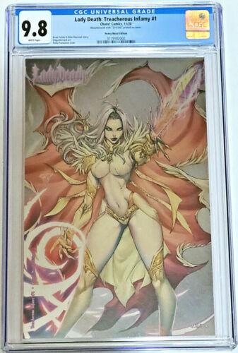 Lady Death Treacherous Infamy #1 Paolo Pantalena Heavy Metal  CGC 9.8 Ltd /300