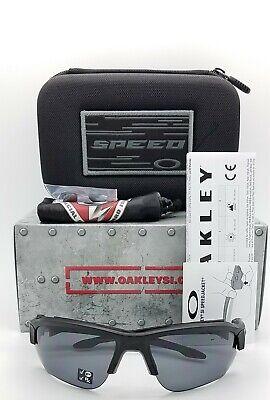 NEW Oakley SI Speed Jacket sunglasses Black Grey Polarized 9228-02 GENUINE (Speed Sunglasses)