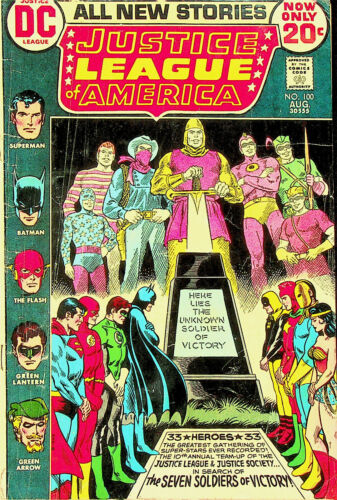 Justice League of America #100 (Aug 1972; DC) - Good
