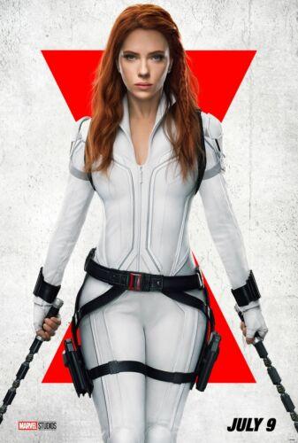 Black Widow movie poster (e)  - 11 x 17 -  Scarlett Johansson