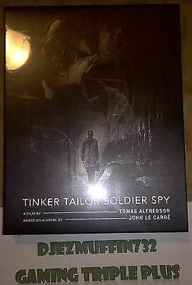 TINKER TAILOR SOLDIER SPY BLU-RAY 363 OF 1700 (STEELBOOK + FULL SLIP A) REGION