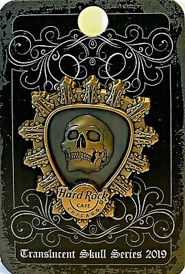 Hard Rock Cafe Chicago Pin Translucent Skull Series 2019 LE NEW #501617 HRC