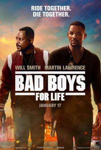 Bad Boys for Life (2020) Movie Poster (Multiple Sizes)
