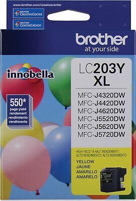 Brother Innobella LC203Y Ink Cartridge - Yellow - Inkjet - H