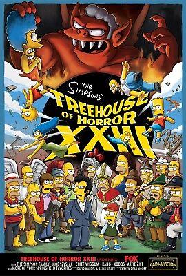 n Halloween Matt Groening Homer Marge Lisa Bart Serie 05 (Los Simpsons Halloween)