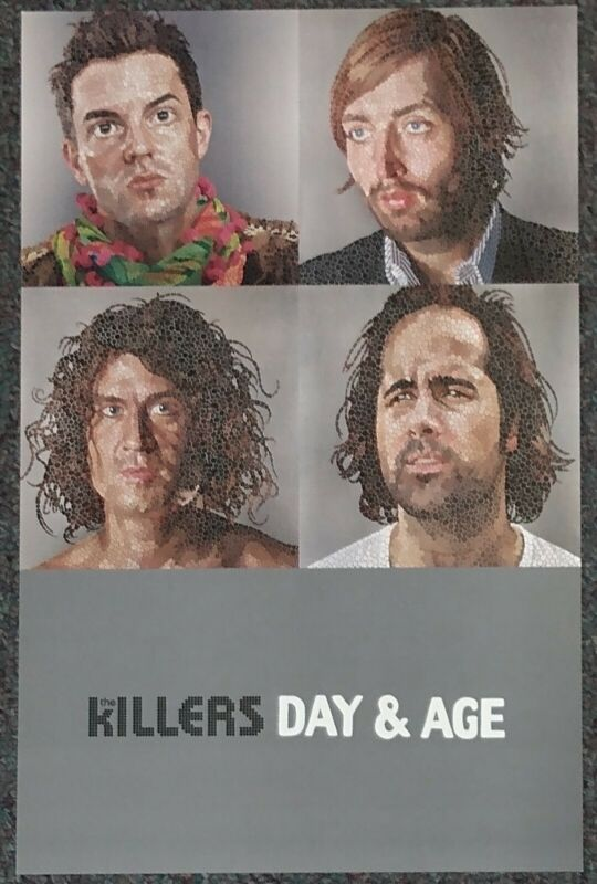 The Killers Day & Age 2008 PROMO POSTER