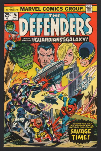 THE DEFENDERS #26, Marvel, 1975, VF- CONDITION COPY, GUARDIANS OF THE GALAXY!