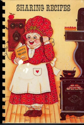 * BENSON VT 1986 FIRST RESPONSE SHARING RECIPES COOK BOOK * LOCAL ADS * VERMONT