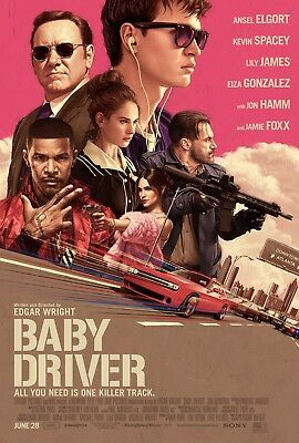 Baby Driver   2017  Choose 1  4K Or Blu Ray  Ships 10 13