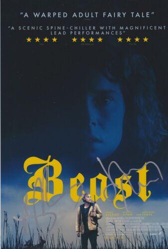 Jessie Buckley/Johnny Flynn Signed Beast 12x8 Photo AFTAL